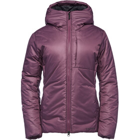 Black Diamond Belay Parka Dam Plum